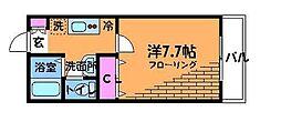 ツインビーファーム[1階]の間取り