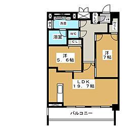 ロイジェント新栄IV[9階]の間取り