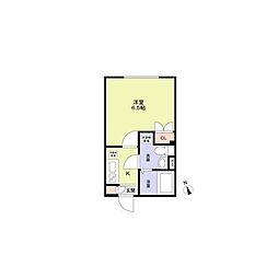 (仮称)早稲田鶴巻町PJ(ワセダツルマキチョウプロジェクト) 4階1Kの間取り