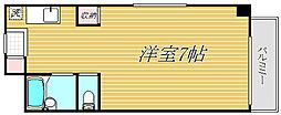 東京都江東区扇橋2丁目の賃貸マンションの間取り