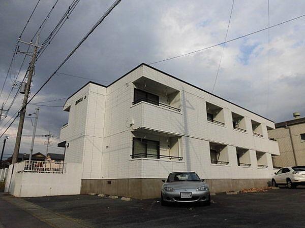 五智荘A[206号室]の外観