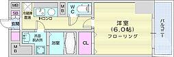 CINZA上杉1丁目 10階1Kの間取り