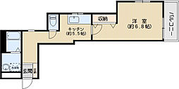 アリス西片メゾン[1階]の間取り