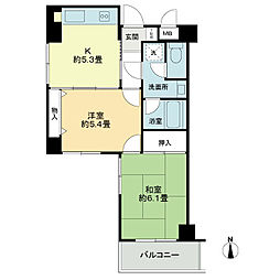 メインステージ板橋本町駅前[3階]の間取り