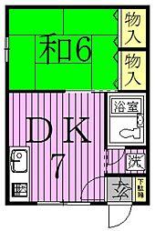 [タウンハウス] 東京都足立区千住仲町 の賃貸【/】の間取り