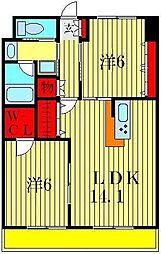 i-BUILDING[6階]の間取り