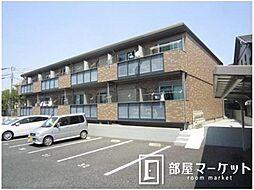 愛知県豊田市本地町4の賃貸アパートの外観