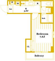 アルテール戸部[4階]の間取り