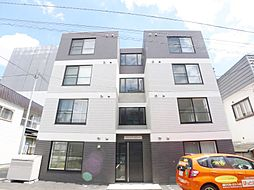 北海道札幌市豊平区中の島二条2丁目の賃貸マンションの外観