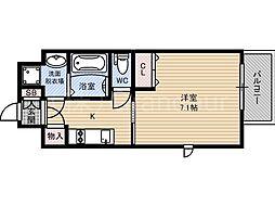 レジュールアッシュ京橋ファーストステージ[8階]の間取り