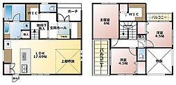 JR東海道・山陽本線 守山駅 バス25分 みずほ団地口下車 徒歩2分 3SLDKの間取り