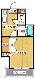 コスタ清武[402号号室]の間取り