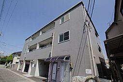 兵庫県西宮市大島町の賃貸アパートの外観