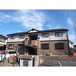 奈良県香芝市旭ケ丘の賃貸アパートの外観