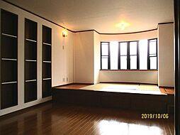 帝塚山西4丁目 中古一戸建 4LDKの居間