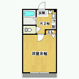 ルーセント二条 [305号室]の間取り