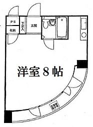 東京都目黒区青葉台4丁目の賃貸マンションの間取り