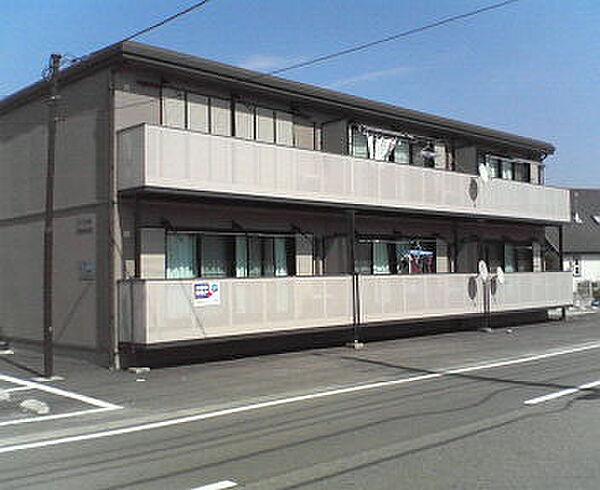 山梨県韮崎市大草町若尾の賃貸アパートの画像