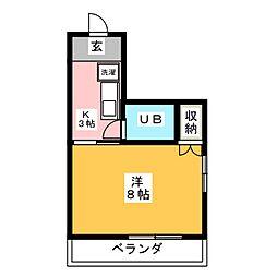 ライフコア 29[3階]の間取り