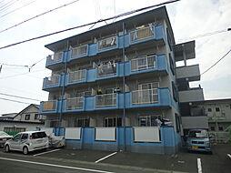 静岡県浜松市中区中島4丁目の賃貸マンションの外観