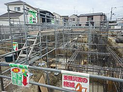 京都府京田辺市田辺波風の賃貸マンションの外観