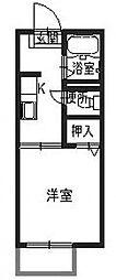 サテライトハウスB[2階]の間取り