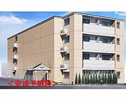 京都府京都市西京区上桂前田町の賃貸マンションの外観