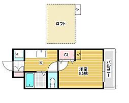 IBC白鷺[3階]の間取り