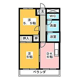 STONE BUIL II[3階]の間取り