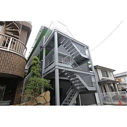 モダンアパートメント池田桃園[1階]の外観