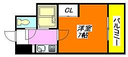 大宝長田ル・グラン 802号室[8階]の間取り