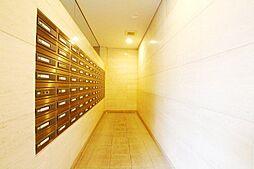 郵便受けです。清潔に維持管理された共用部分です。