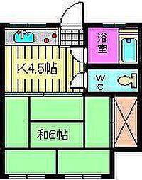 与野クリーン荘[11号室]の間取り