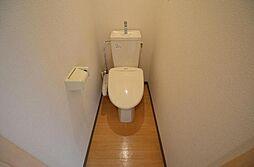 e池下のシャワー付トイレ