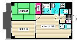 東京都大田区西糀谷2丁目の賃貸マンションの間取り