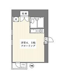 Le MERIDIEN〜ル・メルディアン〜[5階]の間取り