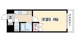 愛知県名古屋市昭和区駒方町5の賃貸マンションの間取り