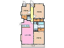ソレイユ 11[3階]の間取り
