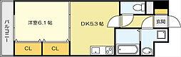 ニューシティアパートメンツ南小倉Ⅱ[5階]の間取り