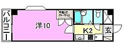 ベルメゾン福音寺[218 号室号室]の間取り