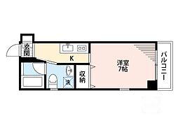 FONTE DELL ACQUA江坂[2階]の間取り