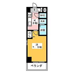 ファーニッシュ太平通[7階]の間取り