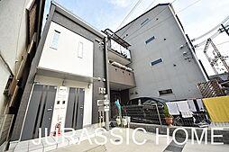 大阪府堺市堺区大浜北町2丁の賃貸アパートの外観