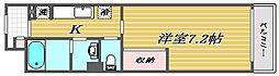埼玉県戸田市喜沢1丁目の賃貸アパートの間取り