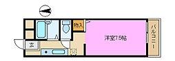 セティオ1番館[1階]の間取り