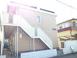 埼玉県川口市上青木西2丁目の賃貸アパートの外観