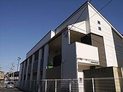 埼玉県草加市草加2丁目の賃貸アパートの外観