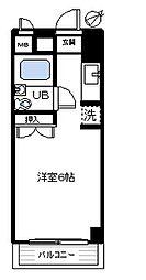 アパートメント曲松[103号室]の間取り