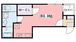 仮称)ハーモニーテラス鳴尾町[1階]の間取り