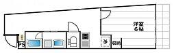 UYO池袋ビル[5階]の間取り